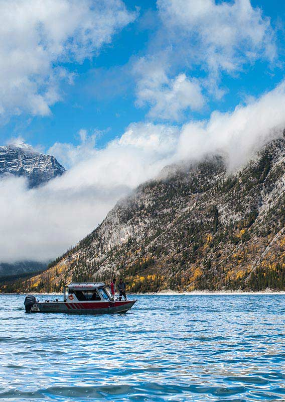 Banff Guided Fishing Tour
