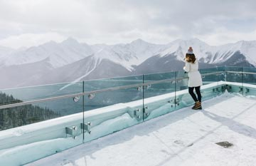 terrace dining room banff | Group Events at the Banff Gondola: Venue & Dining Package ...