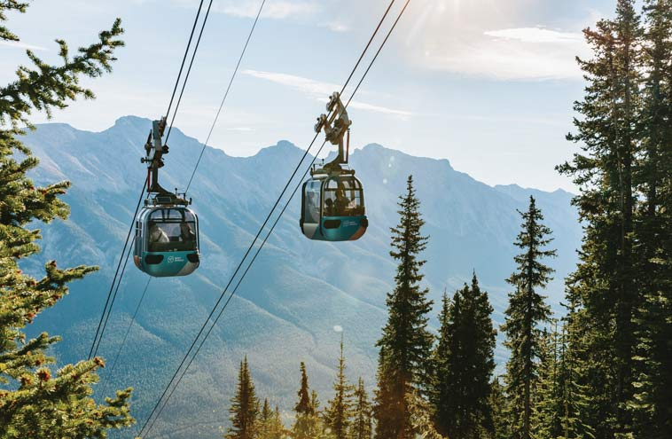 Banff Gondola Official Page: Amazing Mountain Top Views & Dining