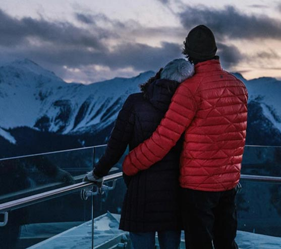 Banff Gondola Romantic Sunset