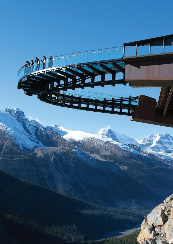 Glacier Skywalk in Jasper National Park