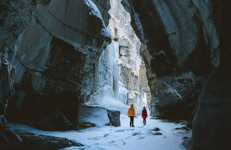 Maligne Canyon Icewalks: Go inside the Deepest Canyon in the Rockies
