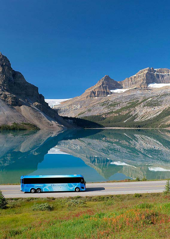 Plan Your Trip: Motor Coach Charters in Banff