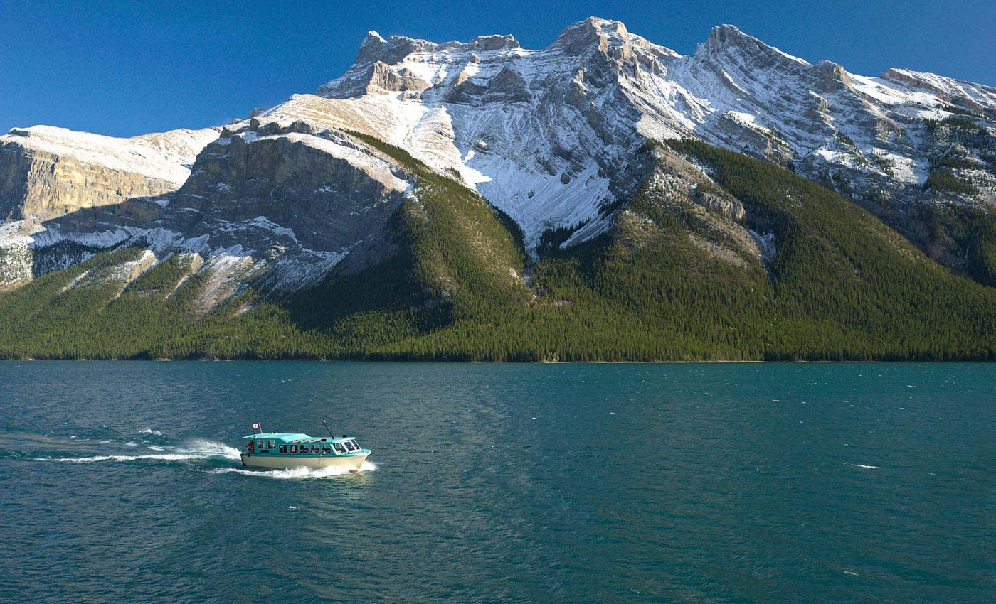 Lake Minnewanka - the Lake of Spirits