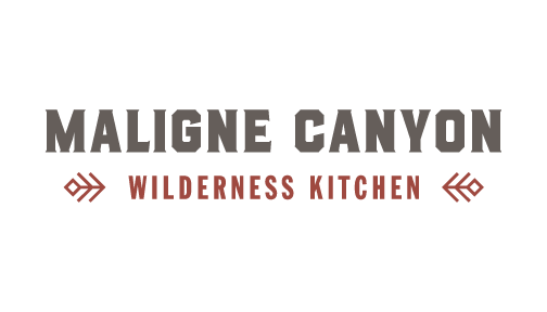 Maligne Canyon Wilderness Kitchen logo.