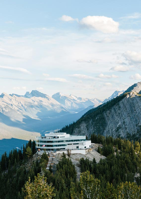 Sky Bistro: Mountain Top Dining at the Banff Gondola