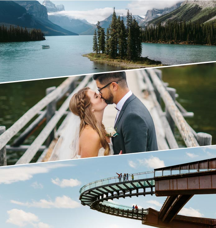 This summer, unique and spectacular weddings are possible in the Canadian Rockies!