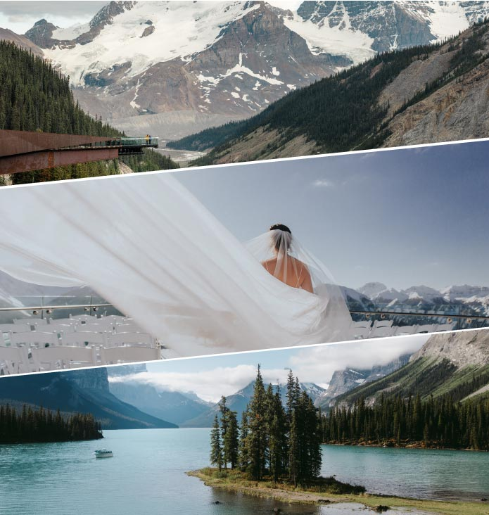 Unique and spectacular weddings in the Canadian Rockies!