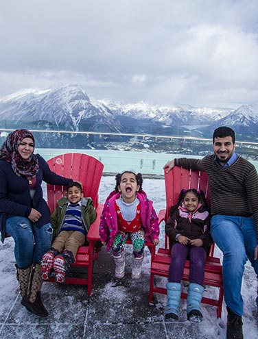 #WelcomeToCanada - How Newcomers Are Exploring Banff