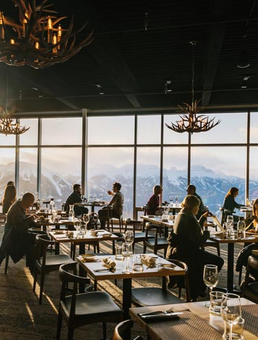 Adventure Dining in Banff & Jasper