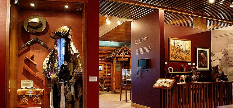 Inside the Whyte Museum of the Canadian Rockies