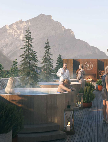 The Buzz in Banff: Everybody's talking about the new rooftop hot tubs and lounge