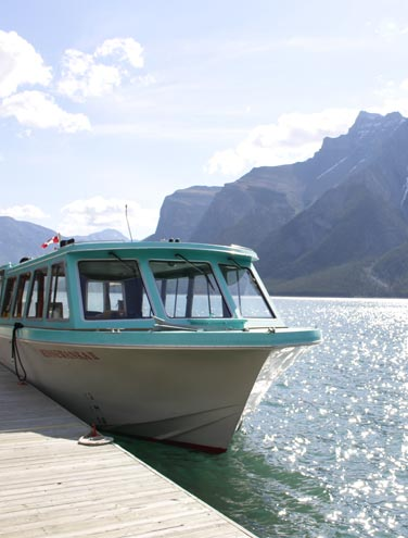 The Spirit of Minnewanka: Healing waters for Captain Christine