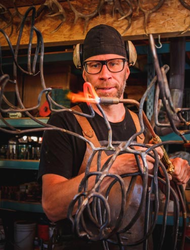Partnering with Local Craftsmen: A visit to the blacksmith studio