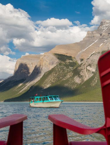 Summer is Here! Lake Vibes at Minnewanka