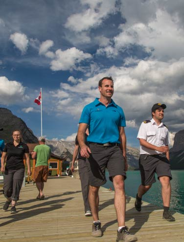 Slowing Down on Lake Minnewanka is a Win-Win