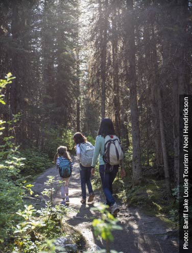 Best Family Hikes in Banff