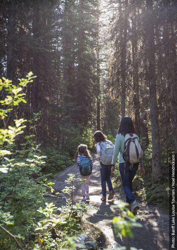 Top Six Hikes for Families in Banff