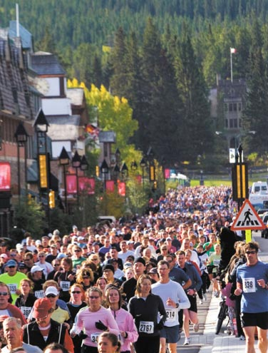 Melissa's Road Race: 39 Years of Community in Banff