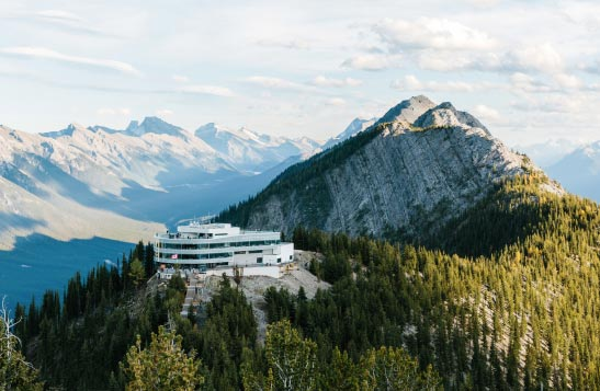Banff Gondola Summit Building